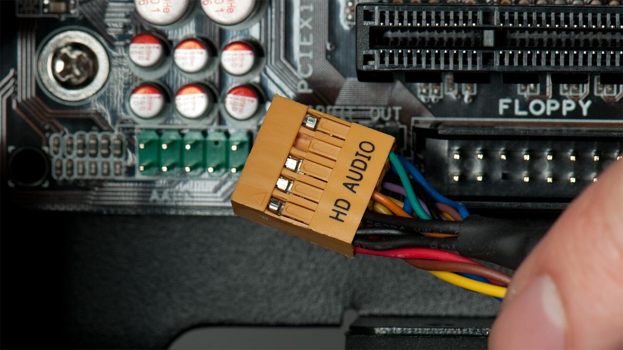 Motherboard Audio