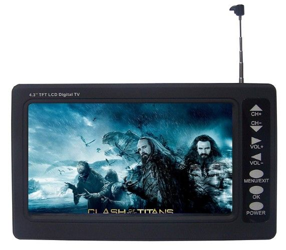 best portable digital mini tvs reviews